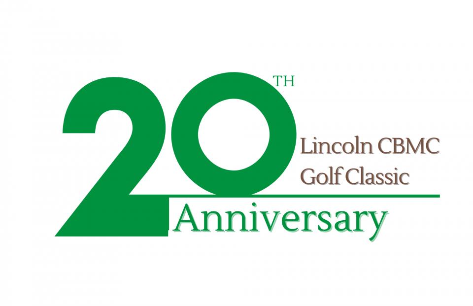 lincoln golf 20th anniv logo