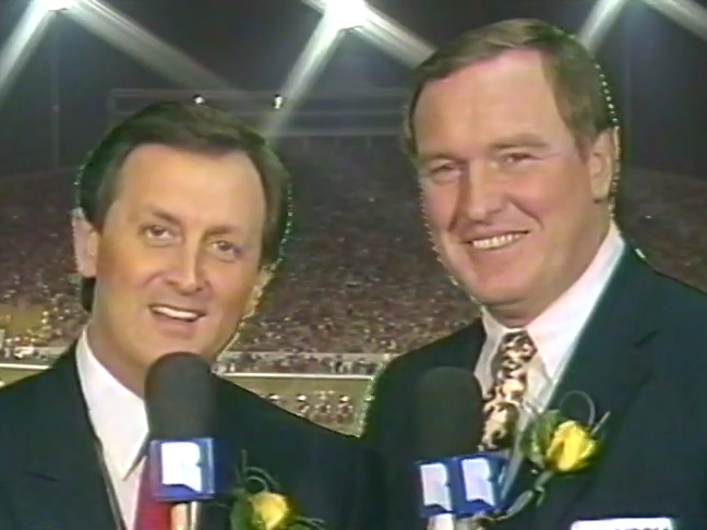 dave rowe and phil stone presenting at 1987