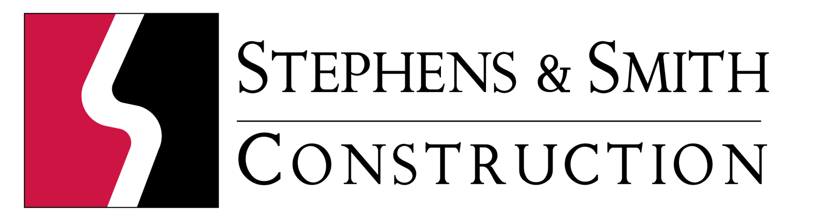 official Stephens and smith construction logo